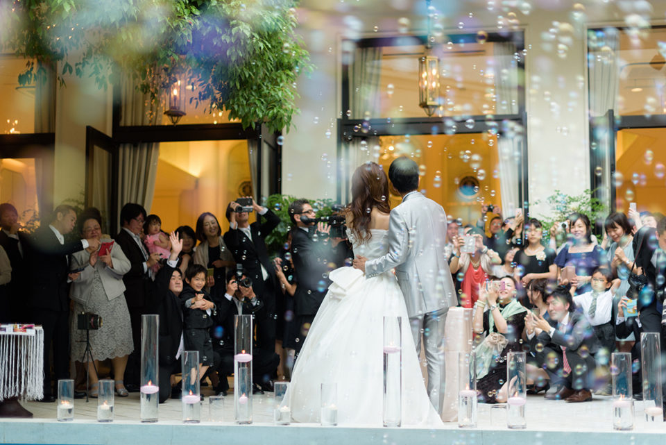 【写真で解説】アーフェリーク白金の結婚式|持ち込み禁止式場での挙式撮影