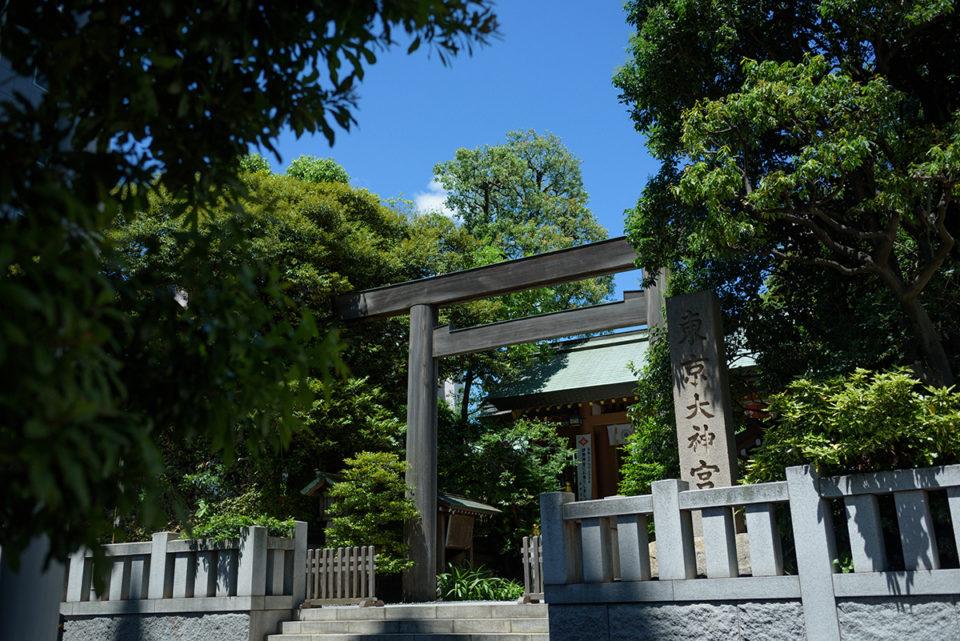東京大神宮の入り口