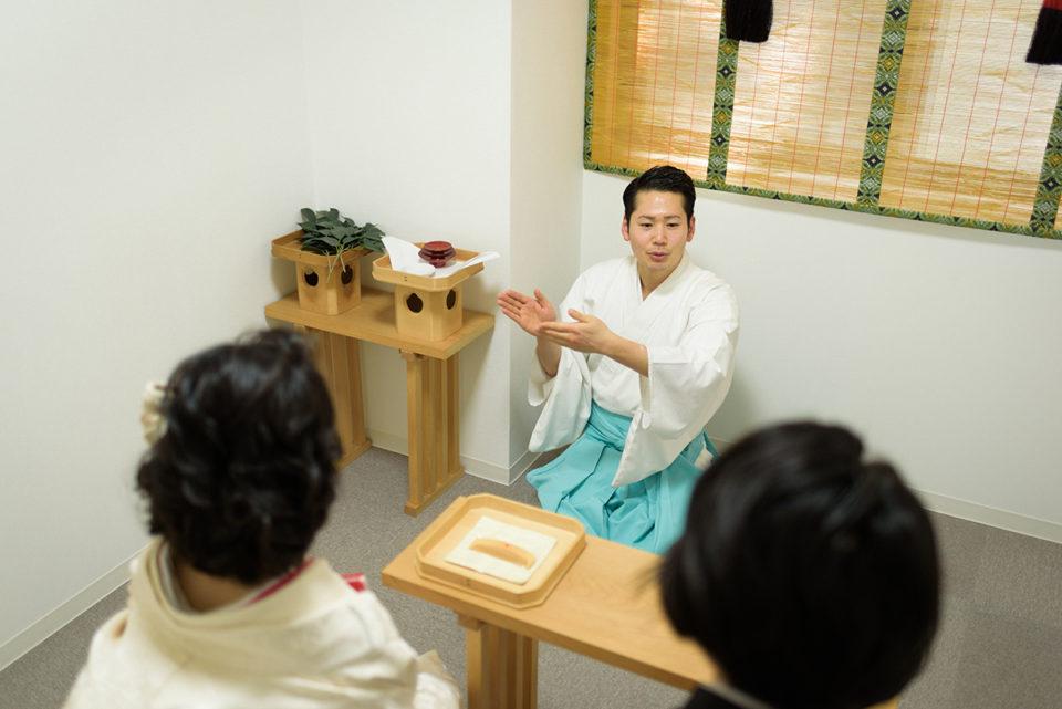 赤坂氷川神社での挙式リハーサル