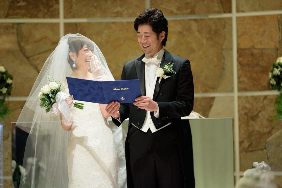 ヒルトン東京の結婚式を写真で解説!チャペル ラ・パール挙式