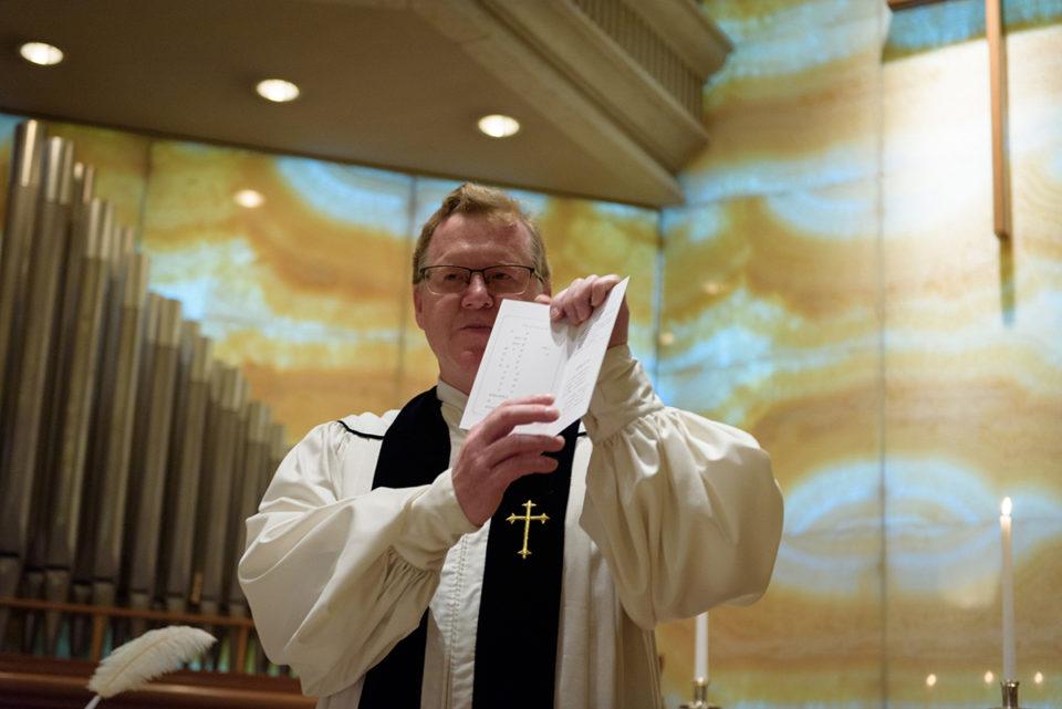 ウェスティンホテル東京の牧師