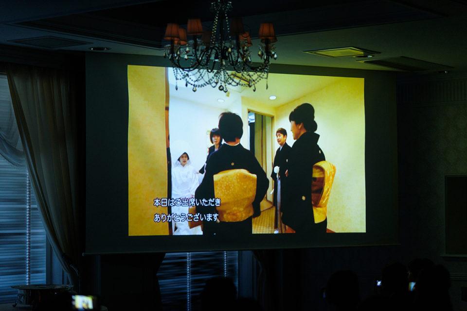 上映されるエンドロールムービー