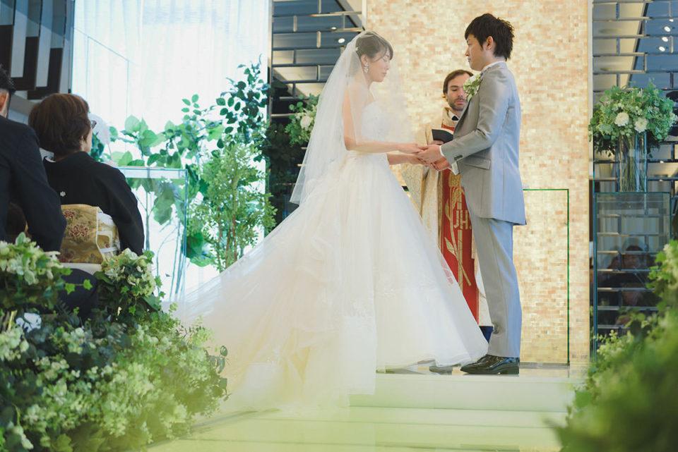 マグナス東京の結婚式を写真で解説!持ち込みNG式場での挙式撮影