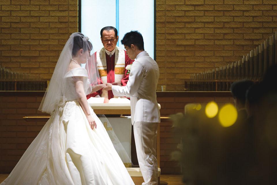 【写真で解説】ホテルメトロポリタンエドモントの結婚式|チャペル挙式